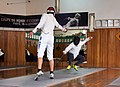 Fencing. Épée. Athenaikos Fencing Club. Fencing with fencers from other clubs.jpg
