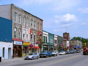 Fenelon Falls - Fenelon Falls' main street