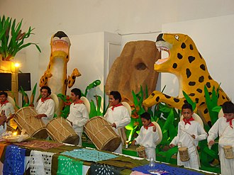 Music of Mexico - Group of tamborileros