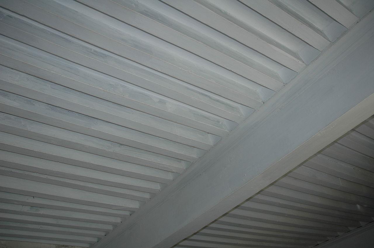 File ferme de bel air d tail wikimedia commons - Plafond a la francaise ...