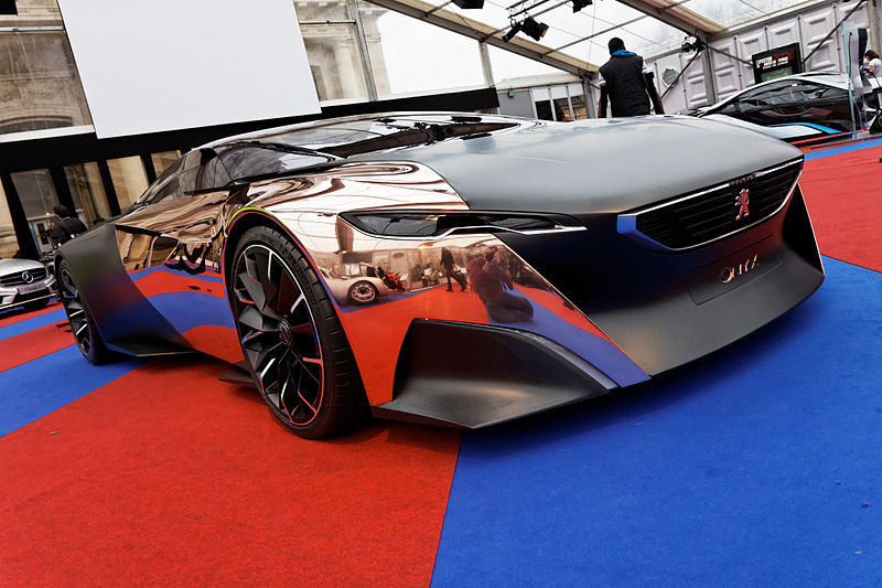file festival automobile international 2013 peugeot onyx wikimedia commons. Black Bedroom Furniture Sets. Home Design Ideas