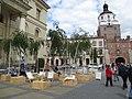 Festiwal Miasto Poezji. Instalacja przy Ratuszu.JPG