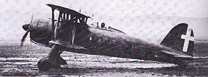 Fiat CR.42 - A Fiat CR.42 in Regia Aeronautica service.