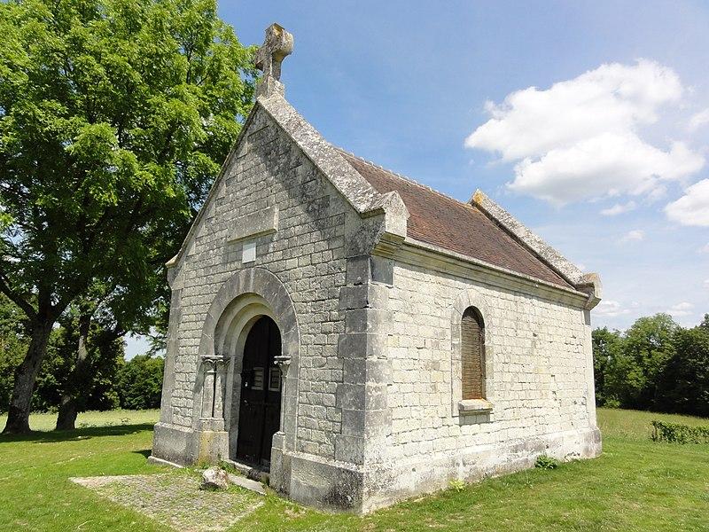 Filain (Aisne) chapelle Berthe, extérieur