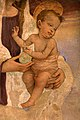 Filippino lippi, tabernacolo del mercatale, 1498, da piazza mercatale a prato 05 bambino.jpg