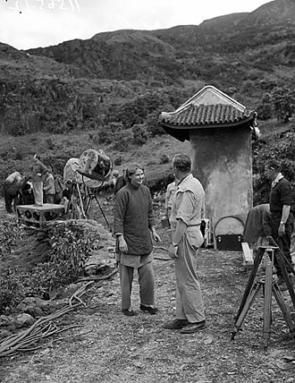 The Inn of the Sixth Happiness - Shooting the film in Wales.