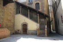 L'antica sede del Calcio storico fiorentino