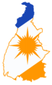 Flag-map of Tocantins (Brazil).png