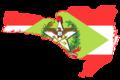 Flag map of Santa Catarina.png