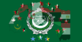 Flag of the Arab League with flags' stars 04.png