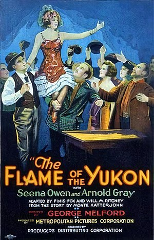 The Flame of the Yukon (1926 film) - Film poster