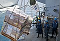 Flickr - Official U.S. Navy Imagery - Sailors aboard USS Cape St. George receive supplies during a replenishment at sea..jpg