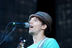 Jason Mraz at the Outside Lands Music and Arts...
