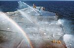Flight deck washdown system test on USS America (CV-66) 1976.JPEG