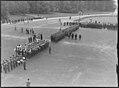"""Fo30141711140088 """"Reservebataljon Holmestrand paraderer for Quisling på Slottsplassen"""" 1942-06-14 (NTBs krigsarkiv, Riksarkivet).jpg"""