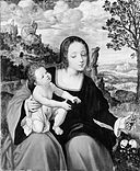 Follower of Quentin Matsys and Master of the Liège Disciples at Emmaus - Rest on the Flight into Egypt.jpg