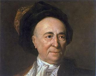 Bernard Le Bovier de Fontenelle - Portrait by Nicolas de Largillière
