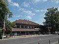 Fonyód railway station building, south, 2016 Hungary.jpg