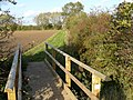 Footbridge just on the edge of Caythorpe - geograph.org.uk - 1046289.jpg