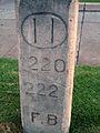 Foothill Boulevard Milestone (Mile 11).JPG