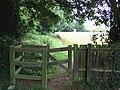 Footpath From Saxlingham Nethergate Churchyard - geograph.org.uk - 914164.jpg