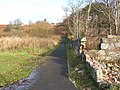 Footpath from the foreshore to Brucehill - geograph.org.uk - 1054009.jpg