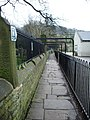 Footpath off The Square - geograph.org.uk - 705668.jpg