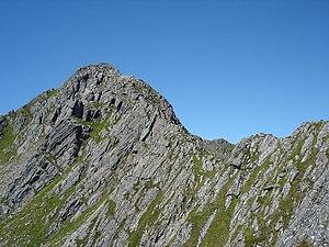 The Saddle - The Forcan ridge on The Saddle