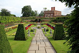 Formal Garden In Hampton Court Palace
