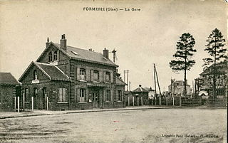 Gare de Formerie railway station in Formerie, France