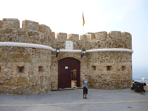 Fort of the Desnarigado, built in the 19th century. It houses a museum. Fort of El Desnarigado.jpg