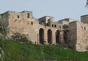 Qalaat al-Madiq - View of the Qalaat al-Madiq fortress, 2010