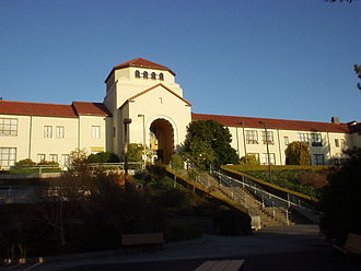 Explorations in Afro-Cuban Dance and Drum - Founder's Hall is the most prominent and oldest building on the HSU campus.