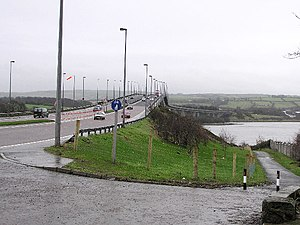 Foyle Bridge - Image: Foyle Bridge, cityside