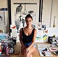 Fran Giffard in her studio.jpg