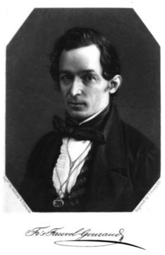 François Fauvel Gouraud - Gouraud in his 1845 book.