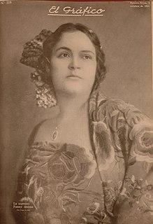 Fanny Anitúa Mexican contralto opera singer