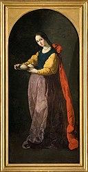 Francisco de Zurbarán: Sainte Agathe