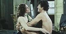 Beswick with Franco Franchi in Ultimo tango a Zagarol (1973)