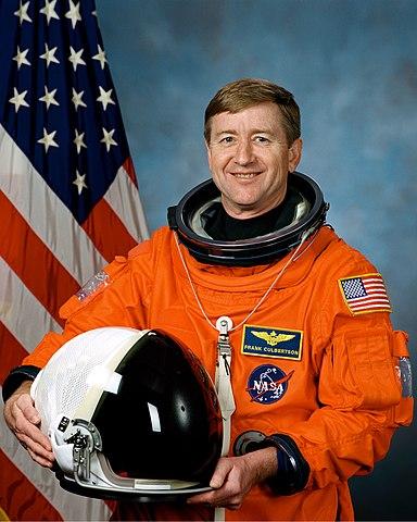 Astronaut Frank Culbertson Jr., ISS 3 Commander, NASA photo JSC2001-01342 (21 February 2001)Source: Wikipedia (spaceflight.nasa.gov killed 25 Feb 2021) 384px-Frank_Culbertson_Jr.jpg