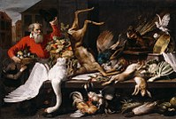 Frans Snyders - Still-Life with Dead Game, Fruits, and Vegetables in a Market - WGA21538.jpg