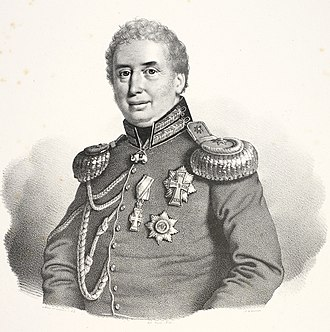 Chief of the Royal Danish Army - Image: Frantz Christopher (von) Bülow David Monies (cropped)