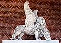 Frari (Venice) nave right - Monument of Titian - Il Leone di Venezia.jpg