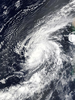 Hurricane Fred (2015) - Image: Fred 2015 08 31 1215Z
