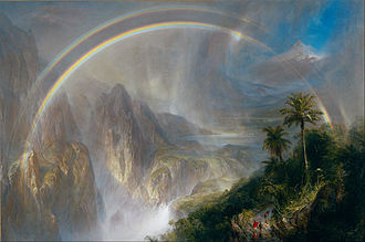 De Young (museum) - Rainy Season in the Tropics by Frederic Edwin Church (1866)