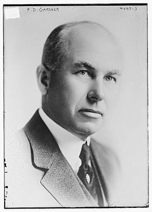 Frederick D. Gardner - Frederick Dozier Gardner circa 1915