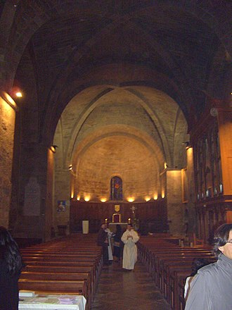Fréjus Cathedral - 13th-century nave
