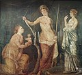 Fresco from the Golden House of Nero, found in Rome in 1668, Ashmolean Museum (8401788678).jpg