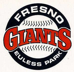 Fresno Giants - Image: Fresno Giants logo 1985