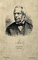 Friedrich Gustav Jacob Henle. Reproduction of wood engraving Wellcome V0002689.jpg